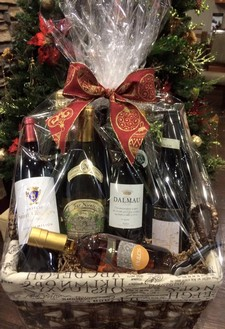 Holiday Wine Gift Basket Class 12/3