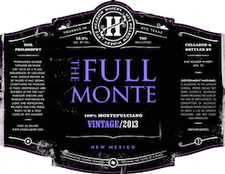 Hye Meadow Winery Full Monte